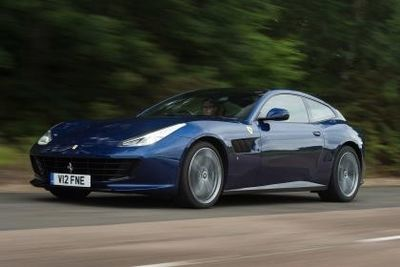 A Uk Review: The New Ferrari Gtc4 Lusso V12 2017