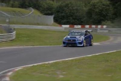 Video: Watch A Subaru Wrx Sti Lap The 'ring As Fast As A Porsche 918