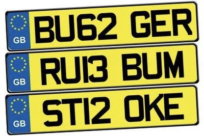 The New '67' Car Registration Number Plates Banned By The Dvla!