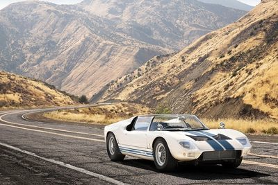 This Is The Only Remaining Ford Gt40 Roadster...