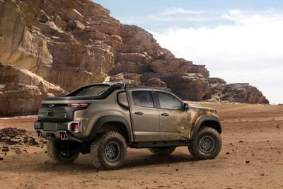 Video: Hydrogen-powered Off-road Monster:the Chevrolet Colorado Zh2!