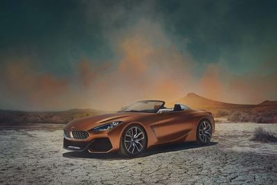 Here It Is: The Long-awaited Bmw Z4 Concept