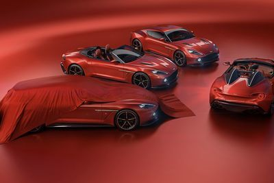 The Vanquish Zagato Speedster By Aston Martin!