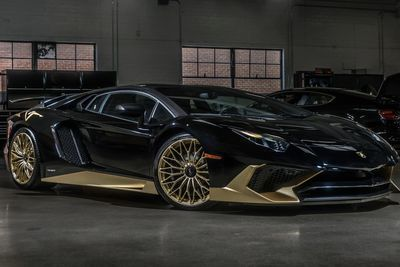 Lamborghini Aventador SV Lamborghini Automotive Cars Sxdrv This Is The Last  Black And Gold Lamborghini Aventador