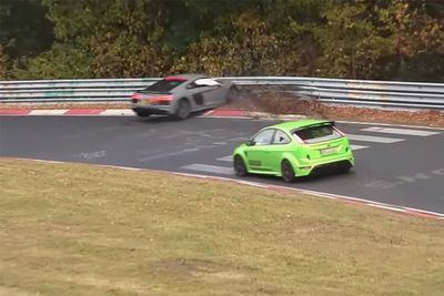 Video: Nordschleife Crash Compilation