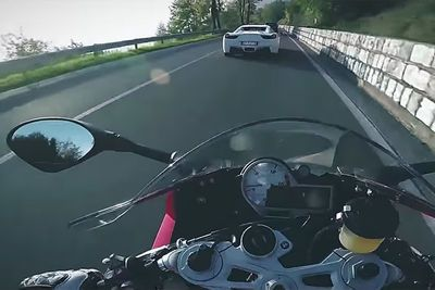 Video: Ferrari's, Porsche's And Some Superbikes For Fun!
