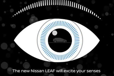 Video: 2018 Nissan Leaf Teaser: The Electric Car That Will Amaze Your Senses