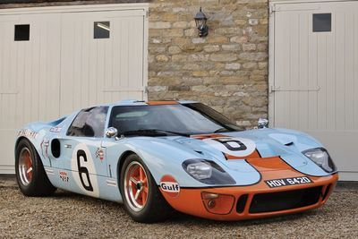 This Ford Gt40 Is Heading To Auction... Start Selling Everything!