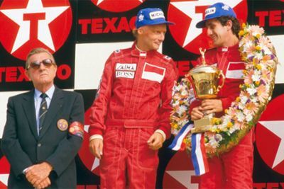 Video: Niki Lauda, The Legendary Race Car Driver