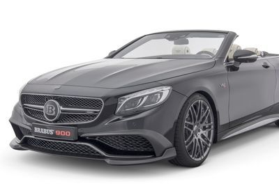 Brabus Rocket 9000 Is The World's Fastest Four-seat Convertible!