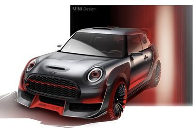 Video: New Mini John Cooper Concept Brings The Heat!
