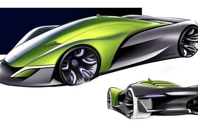 Mclaren's Ultimate Vision For A New Halo Hypercar!