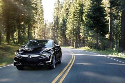 The 2018 Honda Clarity Will Offer The Best In Class All-electric Range!