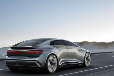 Introducing Audi's Non-driving Future: The Aicon And The Elaine