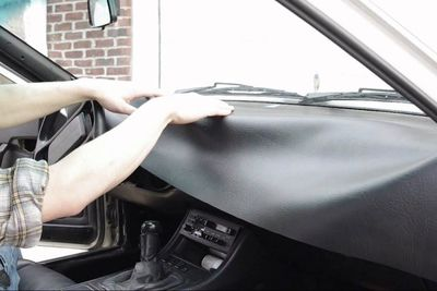 Video: Add New Vinyl To Restore Your Cars' Dashboard!