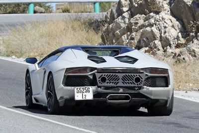 Spotted: The Lamborghini Aventador Performante