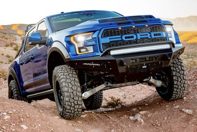 Shelby Raptor Shapes Up As The Ultimate Off-road Truck!