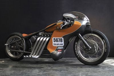 A Custom Landspeed Racer By Gonzo Motorcycles!!