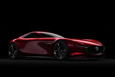 Mazda's 'vision' At Tokyo Show Looks Ready To Tackle Audi And Lexus!