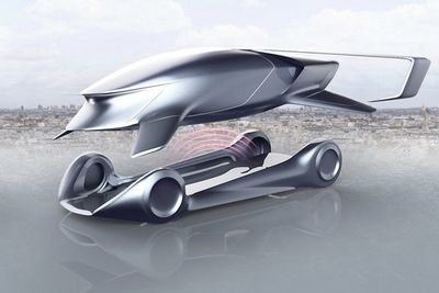 If Peugeot Made Flying Cars, It Would Look Like This
