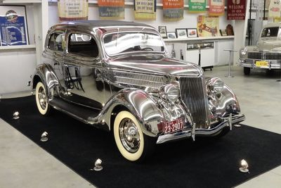 Video: Old School 1936 Ford Stainless Steel Tudor Delux