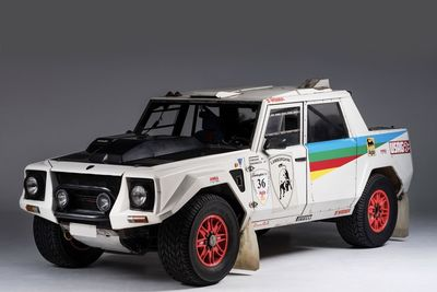 The Lamborghini Lm002 Is A Luxury Suv Racer