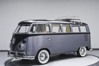 1976 Volkswagen Bus Is A 'back To The Future' Time Machine