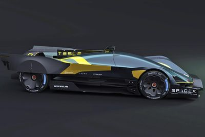 Video Here Is What The Tesla Le Mans Car Concept Could Look Like