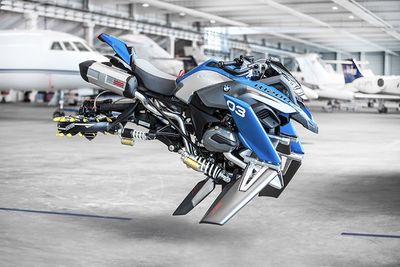 The Bmw Hover Bike Just Went From Lego To Life Sized, It Looks So Fly!
