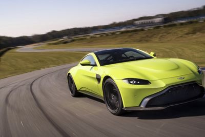 Video: The All New Lime Green Aston Martin Vantage