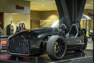 Vanderhall's Edison2 Three-wheeler Roadster Electric