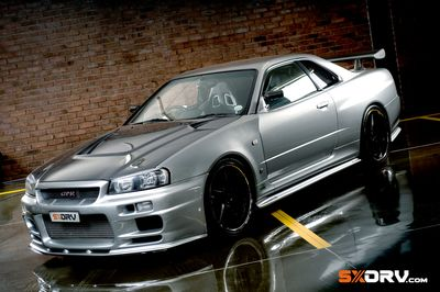 Marvelous Top Secret Nissan Skyline GT R V Spec R34 Japanese Domestic Market (JDM