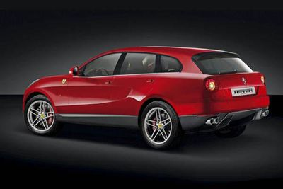 Ferrari Plans For Their Suv To Be The Fastest!
