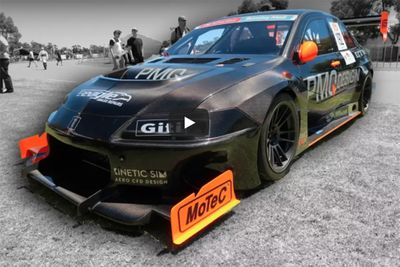 Video: 800hp, 1000kg, Fully Carbon Fibre Mitsubishi Evo – It's Wicked!