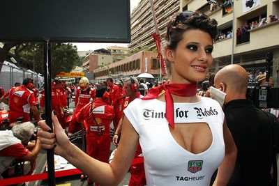 Video: No More F1 Grid Girls! Apparently 'modern Day Societal Norms' Don't Allow For Them Anymore