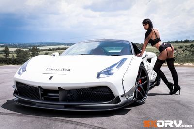 Video: Fae Evans – Ferrari 488 Liberty Walk – Exclusive Feature