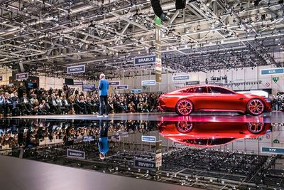 Geneva Motor Show New Cars 2018 Unveil Toyota Supra Porsche Aston Martin  Switzerland Ferrari 488 Preview