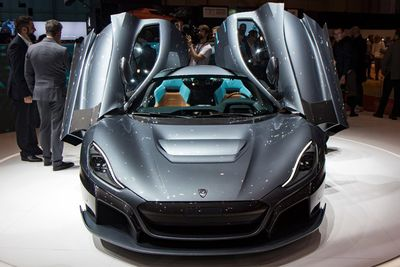 Rimac C_Two: The all-electric hypercar that wants to drive itself