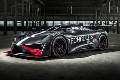 Video: Techrules Ren Rs – A Diesel-hybrid Track Day Hypercar That Aims To Squash Your Organs