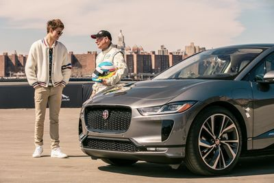 Baby Driver Takes The Jaguar I-pace For A Spin