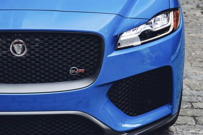 New Jaguar F-pace Svr Revealed Ahead Of New York Auto Show