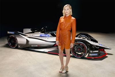 Harley Quinn Goes Green And Boosts Nissan's New Formula E