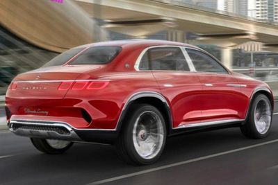 Mercedes-maybach Suv Leaked
