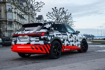 New 2018 Audi E-tron To Boast 150kw Fast Charging Capability
