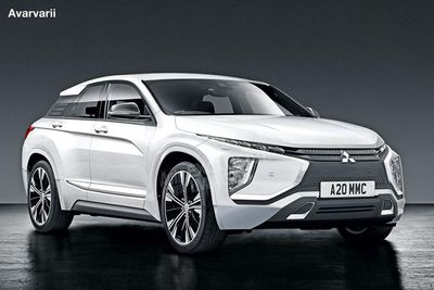 Extreme Crossover Styling For The New Mitsubishi Lancer