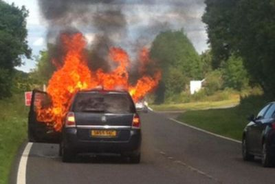 Vauxhall Zafira Fires: Manufacturer Facing A Criminal Investigation