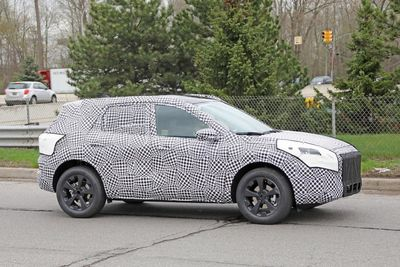 New 2020 Ford Kuga Suv Caught On Camera