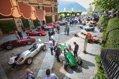 Five Of The World's Rarest Automobiles On Show At The Concorso D'eleganza 2018