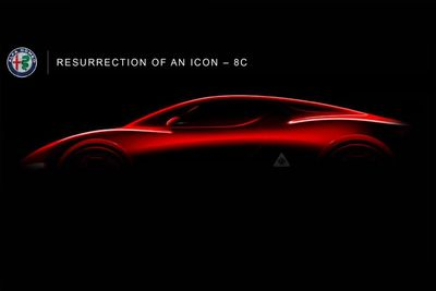 New Alfa Romeo 8C and GTV on the way... We are super excited!