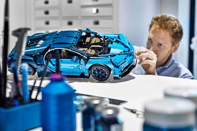 Bugatti Chiron LEGO kit launches... with 3,599 parts!